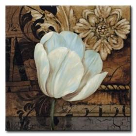 11_GLA-609_Artifact II / Cuadro Flores, Flor Blanca