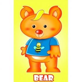 Cuadro Osito amarillo-Bear 06