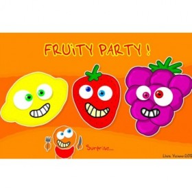 Cuadro Fruity Party 04