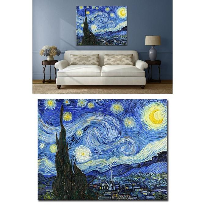Cuadro Van Gogh - La noche estrellada