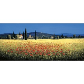 12020 / Cuadro Panorámica de la Toscana