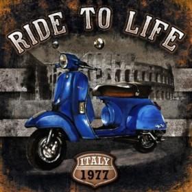 GR3 Cuadro Moto 01 Ride to Life