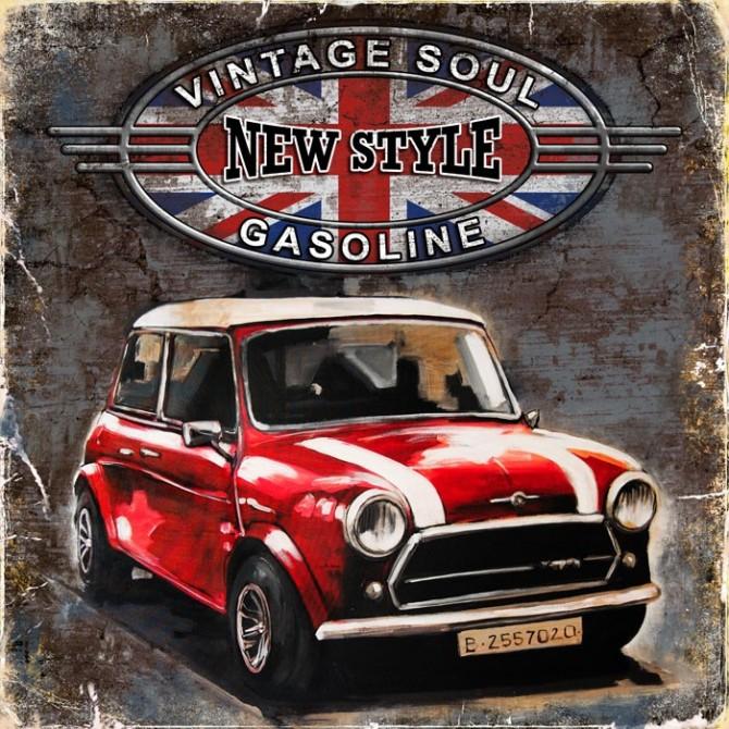 GR3 Cuadro Coche Vintage Soul