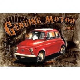 GR1 Cuadro Coche Genuine Motor Negro