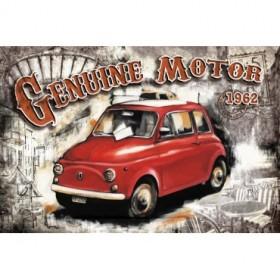 GR1 Cuadro Coche Genuine Motor Blanco