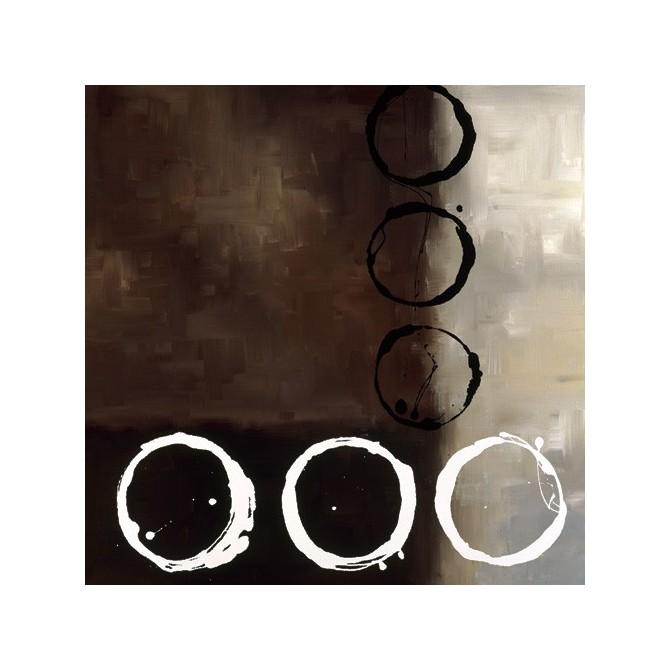 18013 / Cuadro Beige Circles II