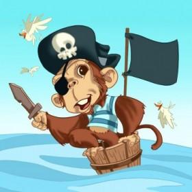 T24b / Cuadro El mono pirata