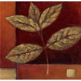 12293 / Cuadro Crimson Leaf Study II