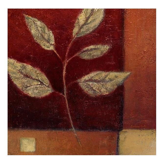 12292 / Cuadro Crimson Leaf Study I