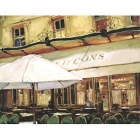 WKP102 / Cuadro Paris Cafe