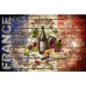 JHR-Cuadro Bandera - Francia Collage 01.02