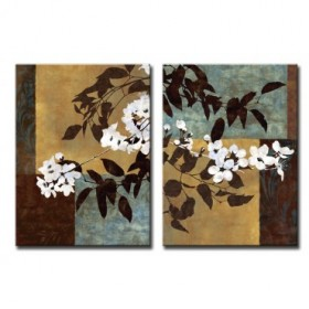 Cuadro Spring Blossoms I-II