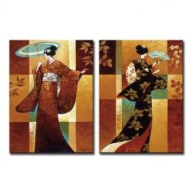 Cuadro Misaki & Sakura