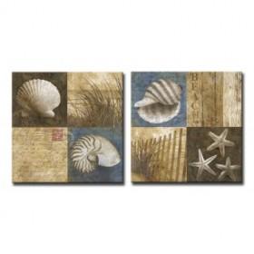 XL73-12801-2 / Cuadro Seaside Memories I-II