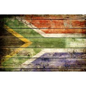 JHR-Cuadro bandera - Sudáfrica 2