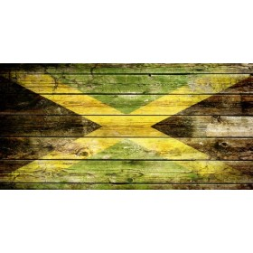 Cuadro bandera - Jamaica 2