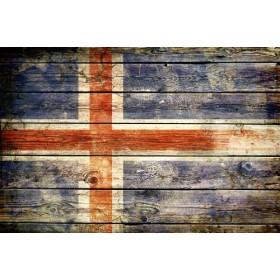 JHR-Cuadro bandera - Islandia 2