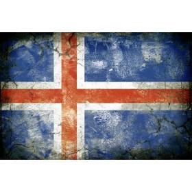 JHR-Cuadro bandera - Islandia 1