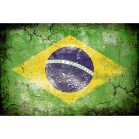 JHR-Cuadro bandera - Brasil 1