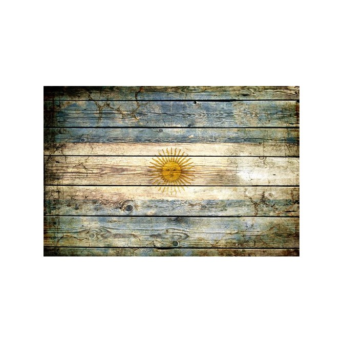 JHR-Cuadro bandera - Argentina 2