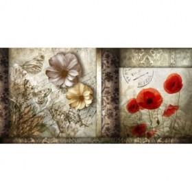 GR-Cuadro Flores Vintage 02