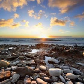 27974649_XS / Cuadro Piedras junto al mar