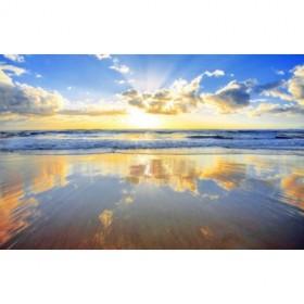 3730444_XS / Cuadro Amanecer en el mar