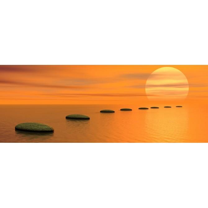 36505673 / Cuadro Puesta de sol zen