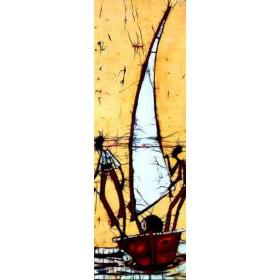 3281899 / Cuadro Batik barco