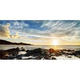 38014521 / Cuadro Crepúsculo en la costa