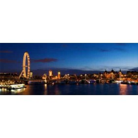 12475795 / Cuadro London panoramic ,including Big Ben and Houses of Parliament