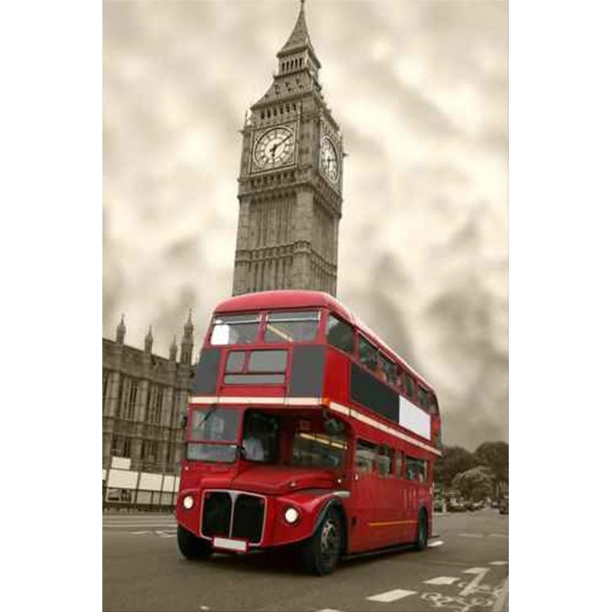 58556 / Cuadro Aged Big Ben