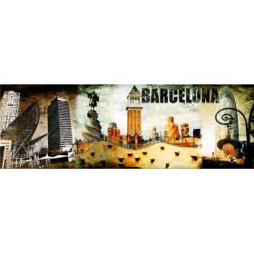 Cuadro Barcelona Collage 02