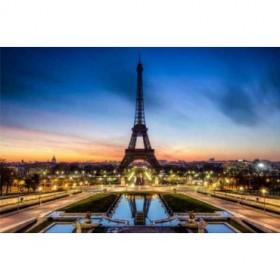 38382416 / Cuadro Torre Eiffel noche