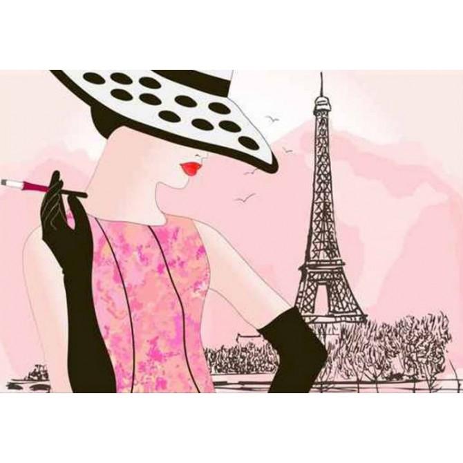 33639999 / Cuadro Fashion woman in Paris