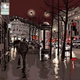 39728089 / Cuadro Calle de  París