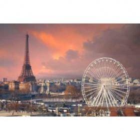 5917913 / Cuadro París bajo un cielo nublado