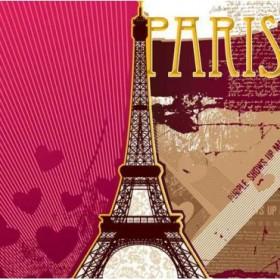 20667832 / Cuadro Torre Eiffel collage