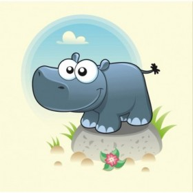 28774517 / Cuadro Hipopótamo