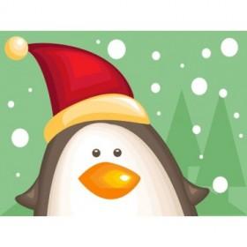 28452376 / Cuadro Pingüino
