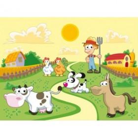 19866722 / Cuadro Animales de granja