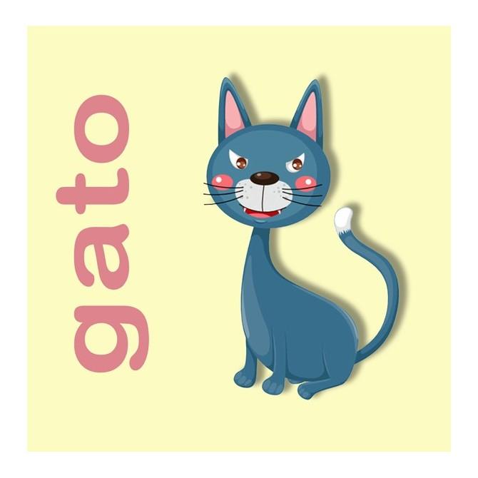 23159353 / Cuadro Gato
