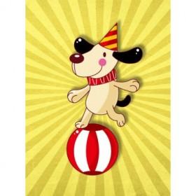 35053983 / Cuadro Perrito circo