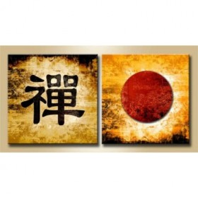 J2-M00-Cuadro Díptico Símbolo Zen 13