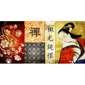 Cuadro Collage Asia 01