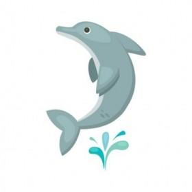 Cuadro Delfin