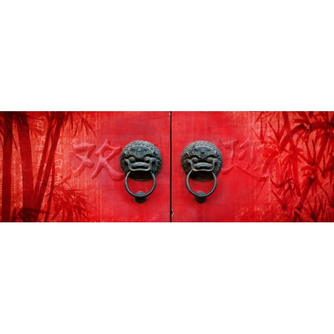 Cuadro Red Door