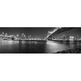Cuadro 2737568_G / New York y Puente Brooklyn b/n