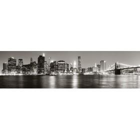 26698779 -G / Cuadro Vista de Manhattan desde Brooklyn b/n