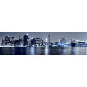 26698779 / Cuadro Vista de Manhattan desde Brooklyn azul